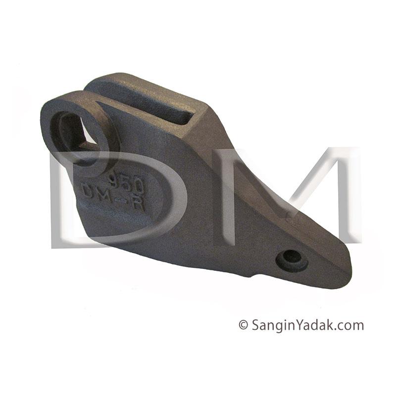 گوشه تیغ پاکت لودر كاترپيلار 950 - DM004