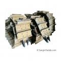 زنجیر استاندارد بلدوزر کوماتسو D155 با کفشک سنگی برند Berco